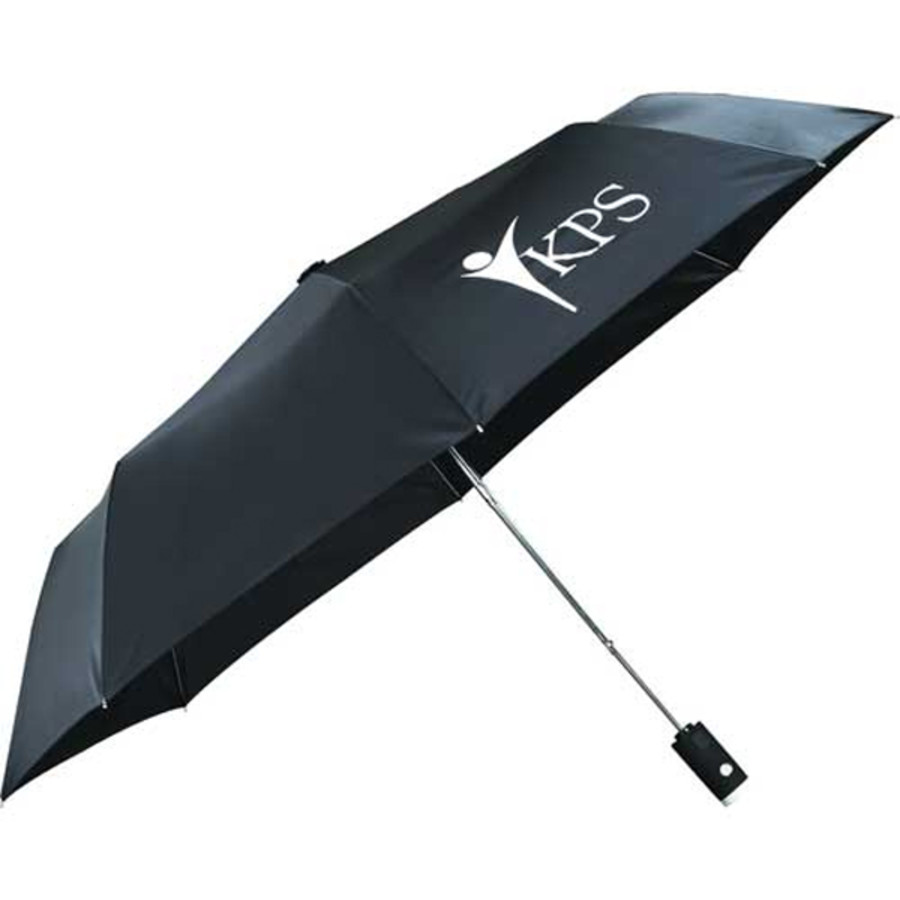 "Promotional 42"" Auto Open Flashlight Umbrella"