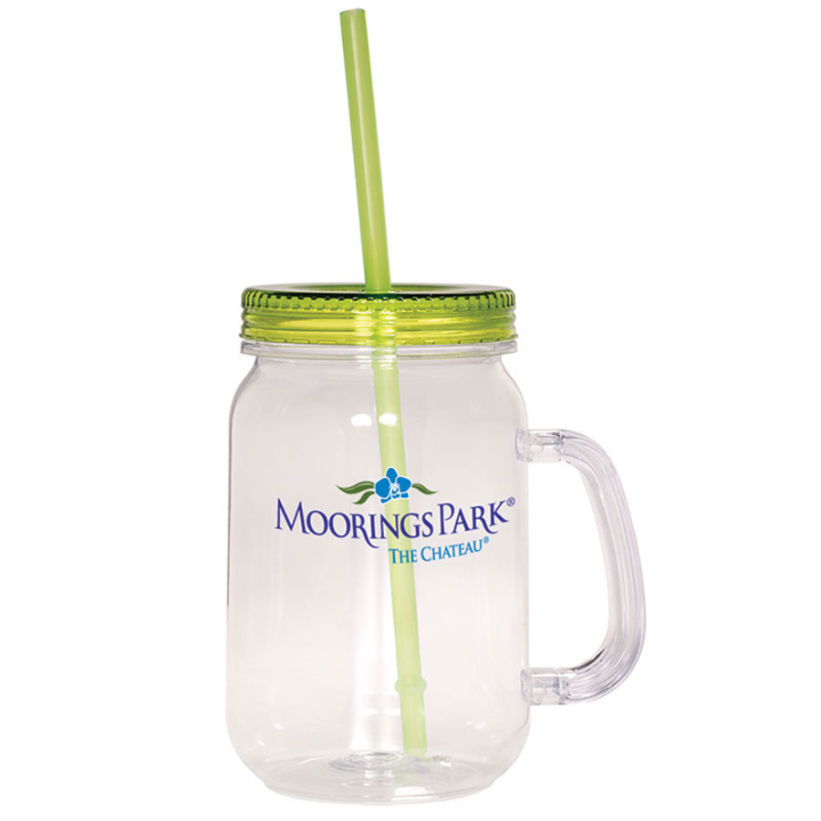 Promotional Country Mason Jar 30 oz. Sipper