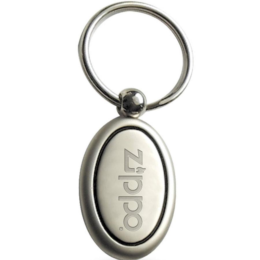 Promotional Split Ring Metal Oval Keyholder