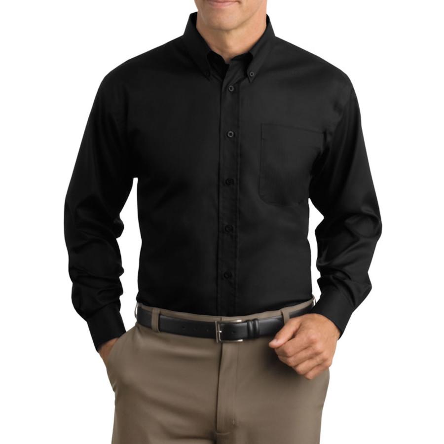 Red House - Herringbone Non-Iron Button-Down Shirt (Apparel)