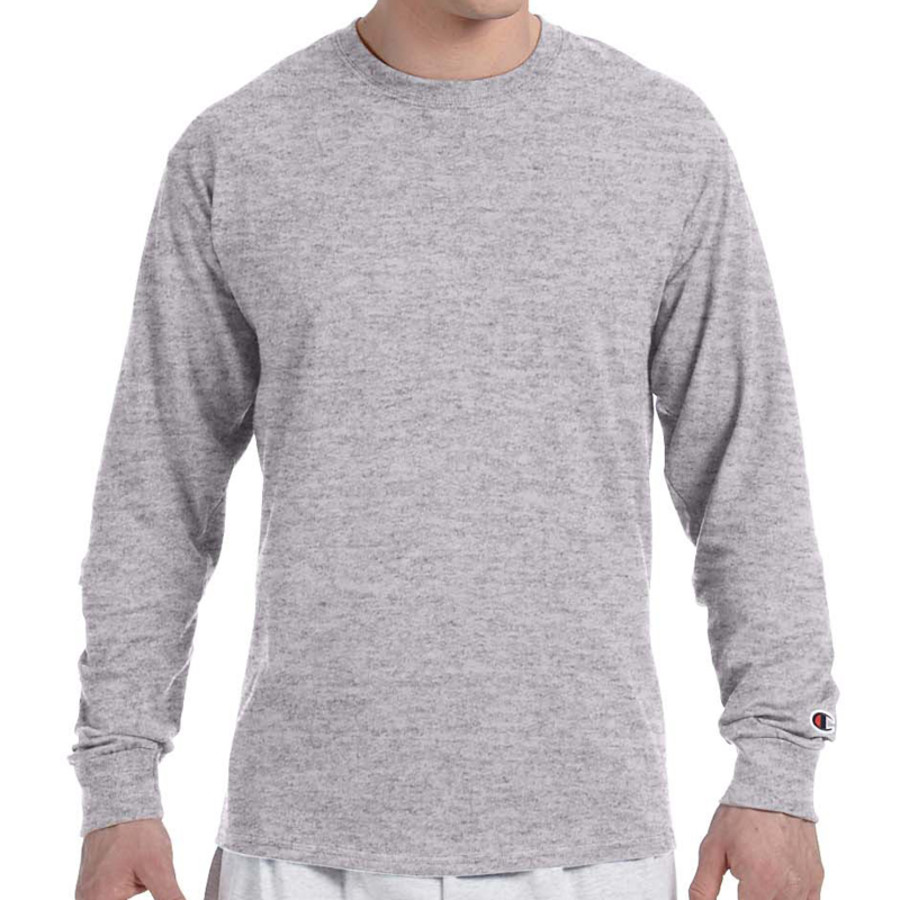 Champion Adult Tagless Long-Sleeve T-Shirt