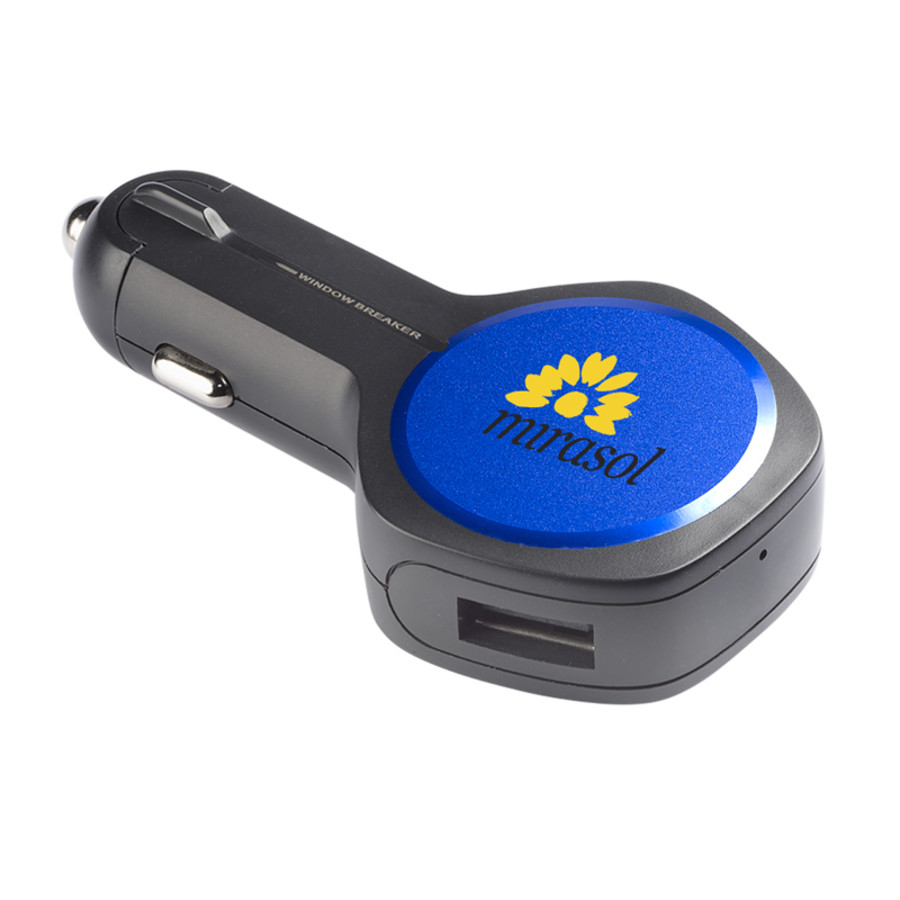Duo USB Speedy Car Charger Safety Tool