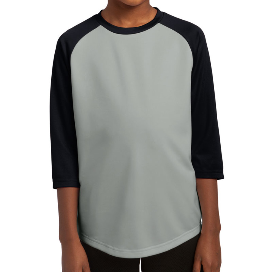 Sport-Tek Youth PosiCharge Baseball Jersey (Apparel)
