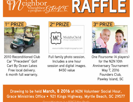 N2N Fundraising Raffle - Over $4,000 in Prizes