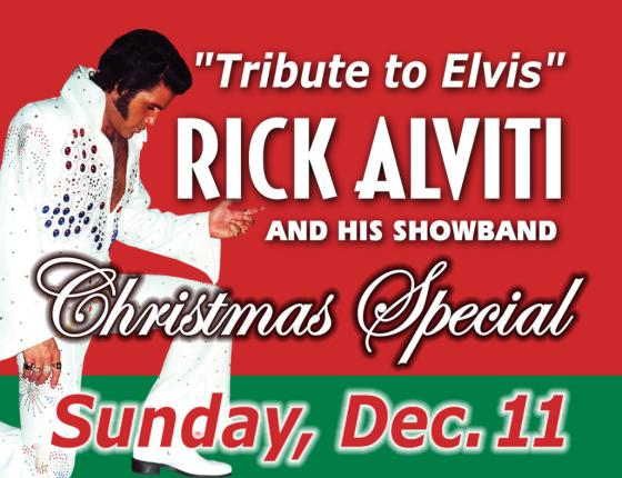 Rick Alviti Christmas Tribute to Elvis