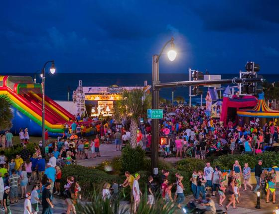 Myrtle Beach Hot Summer Nights Kidz Carnival every Monday