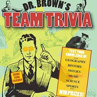 Dr. Brown's Team Trivia