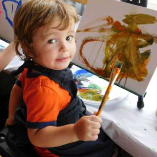 Free Pumpkin Painting for Kids