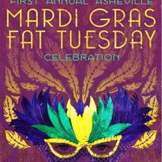 1st Annual Asheville Mardi Gras Fat Tuesday Celebration