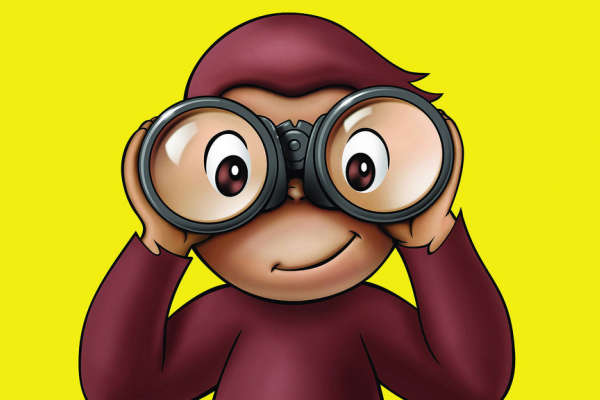 Curious George 75th Anniversary Character Appearance