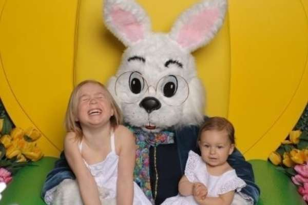 Easter Bunny at The Galleria