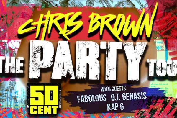 Chris Brown y Amigos en Concierto
