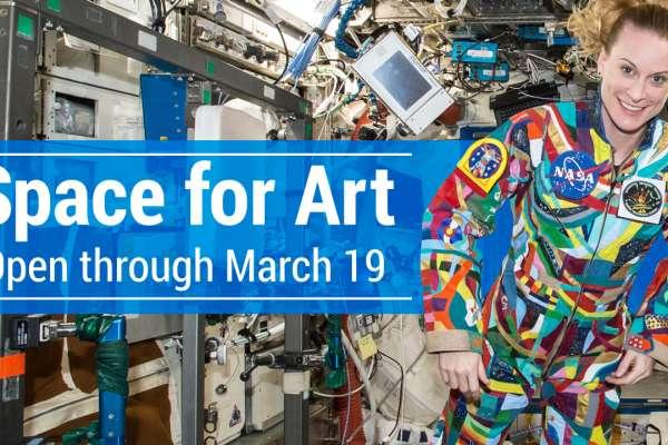 """""""Space for Art"""" en Centro Espacial"""
