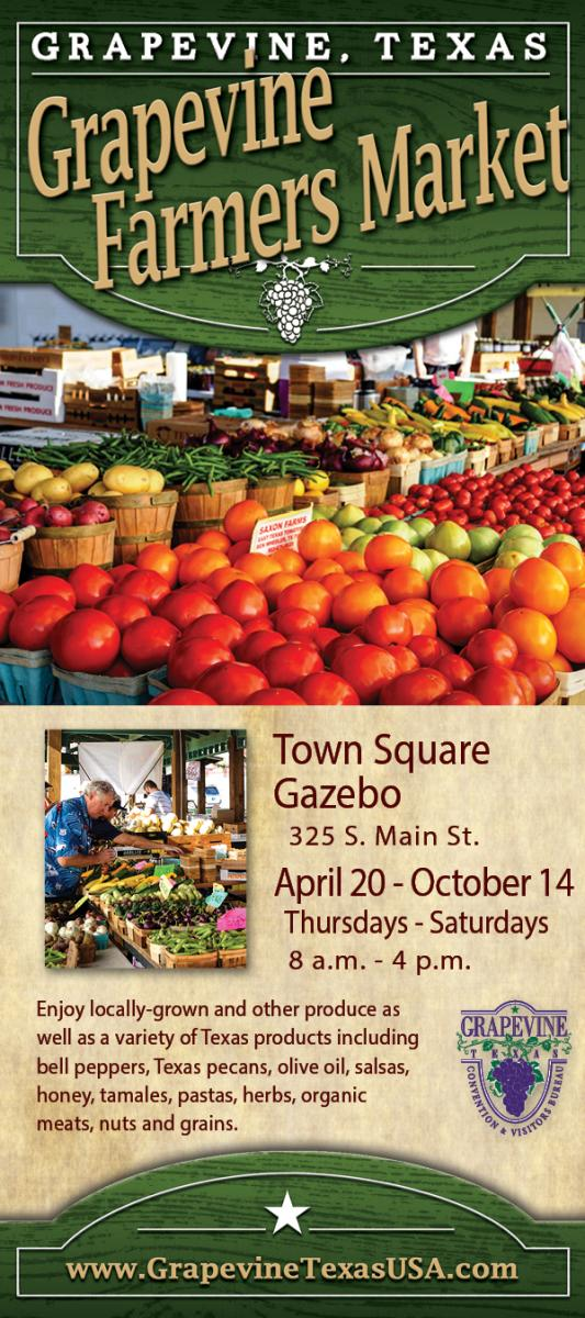 Grapevine Farmers Market 2017