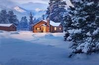 Cozy Cabins & Warm Fireplaces