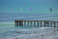 Daytona Beach Sailing and The Main Street Pier