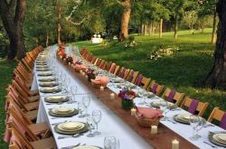 Open Air Dinner at Greendance