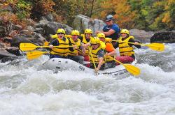 Whitewater Rafting - Fall
