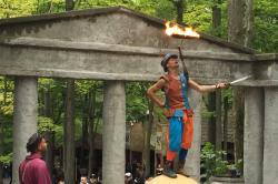 Renaissance Festival Juggler