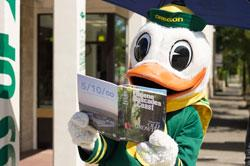 Duck with Visitor Guide