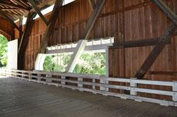 Pengra Covered Bridge Interior Window