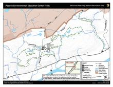 Pocono Environmental Education Center Trails - Location Overview