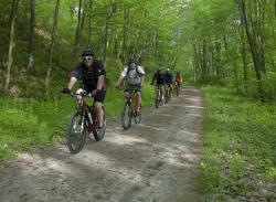 Biking on the Great Allegheny Passage