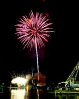 Lake Winnie Fireworks
