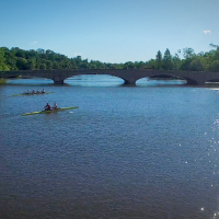Rowing in Princeton