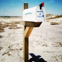 Mailbox on the Beach