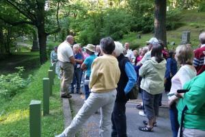 Tour at Mount Hope Cemetery