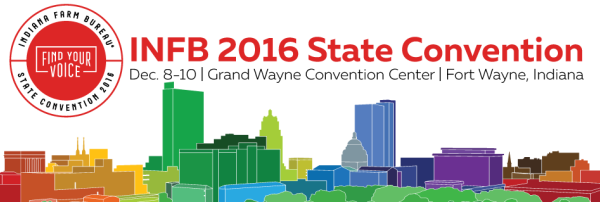 2016 Indiana Farm Bureau Convention Logo