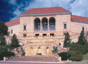Front view of the Dayton Art Institute