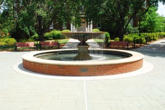 GCSU Fountain