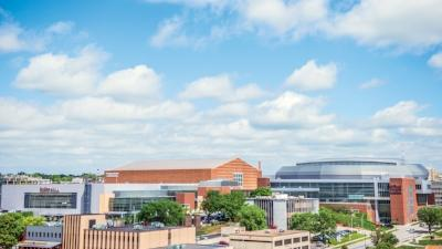 Iowa Events Center arial