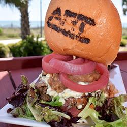 60 Bites - ART Burger Sushi - Walnut Chutney