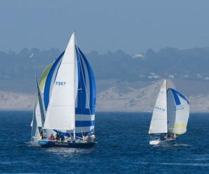 Sail Boats on Monterey bay