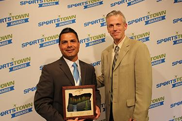 SportsTown Awards 2016 Athletic Trainer of the Year Cesar Ocampo