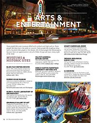 Visitors Guide - Arts & Entertainment