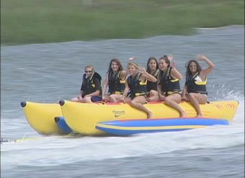 Myrtle Beach Activities | Banana Boat Express