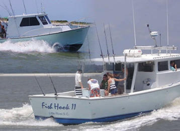 Myrtle Beach Activities | Fish Hook Charters