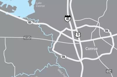 Woodlands/Conroe Map