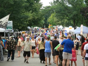The Corn Hill Arts Festival