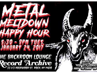 Metal Meltdown Happy Hour