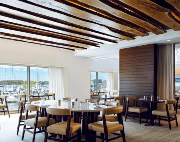 MainSail Restaurant at Newport Marriott