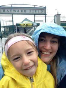 Rainy Day at Hayward Field