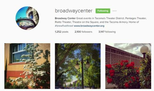 Broadway Center instagram