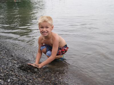 Onanda Park Swimming Playing
