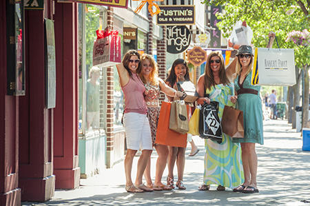 Shopping in Downtown Traverse City