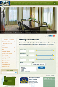 Meeting Facilities Grids - Meeting Rooms - Eugene, Cascades & Oregon Coast